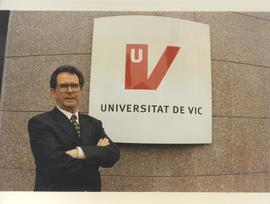 El primer Rector de la Universitat de Vic